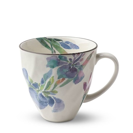 Purple Iris 8 Oz. Mug