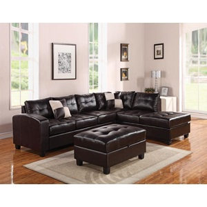 51195_KIT KIVA ESPRESSO SECTIONAL SOFA