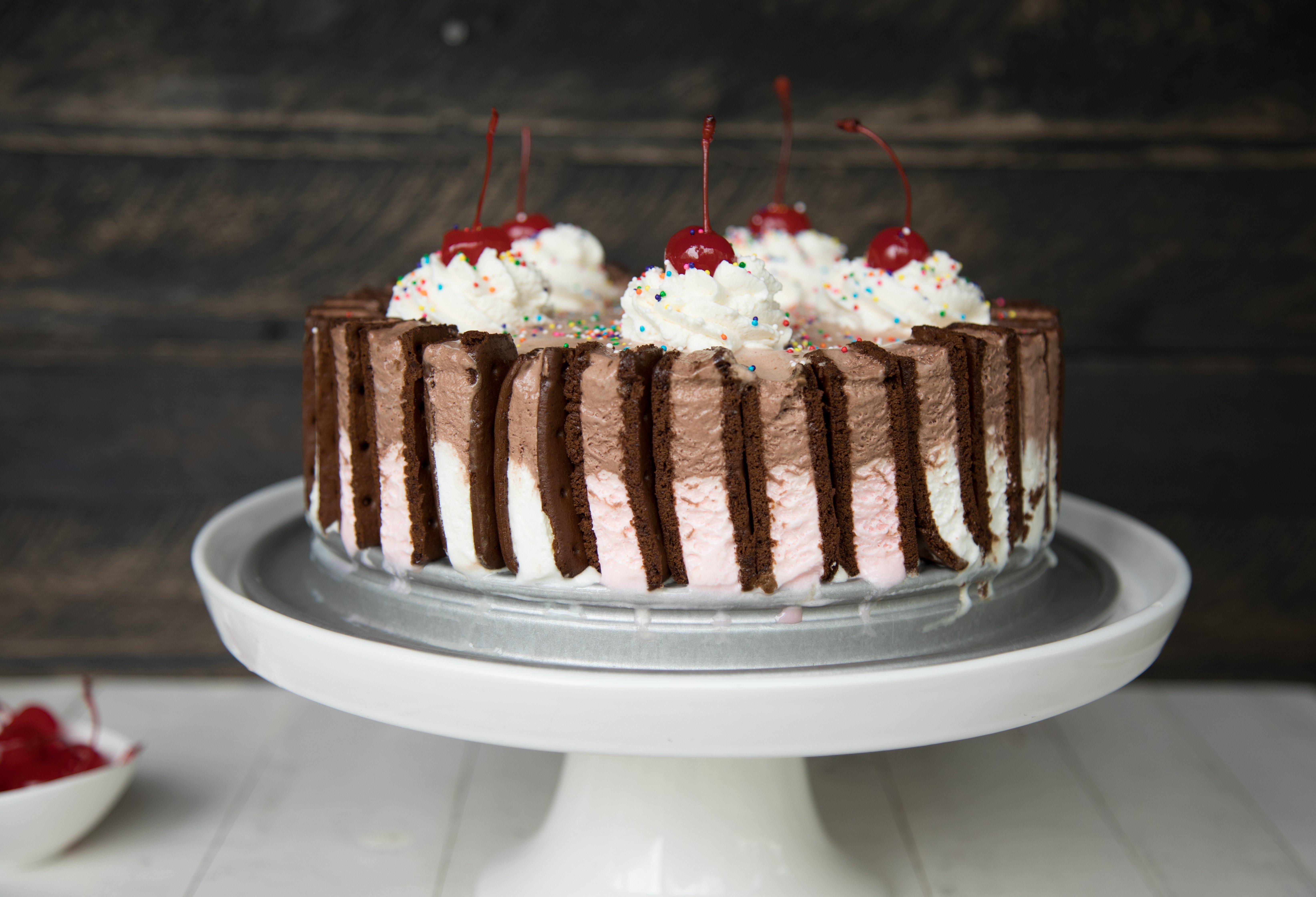 Usa Pan Neapolitan Ice Cream Cake