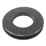 Power brake carpet grommet
