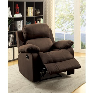 59478 CHOCOLATE RECLINER