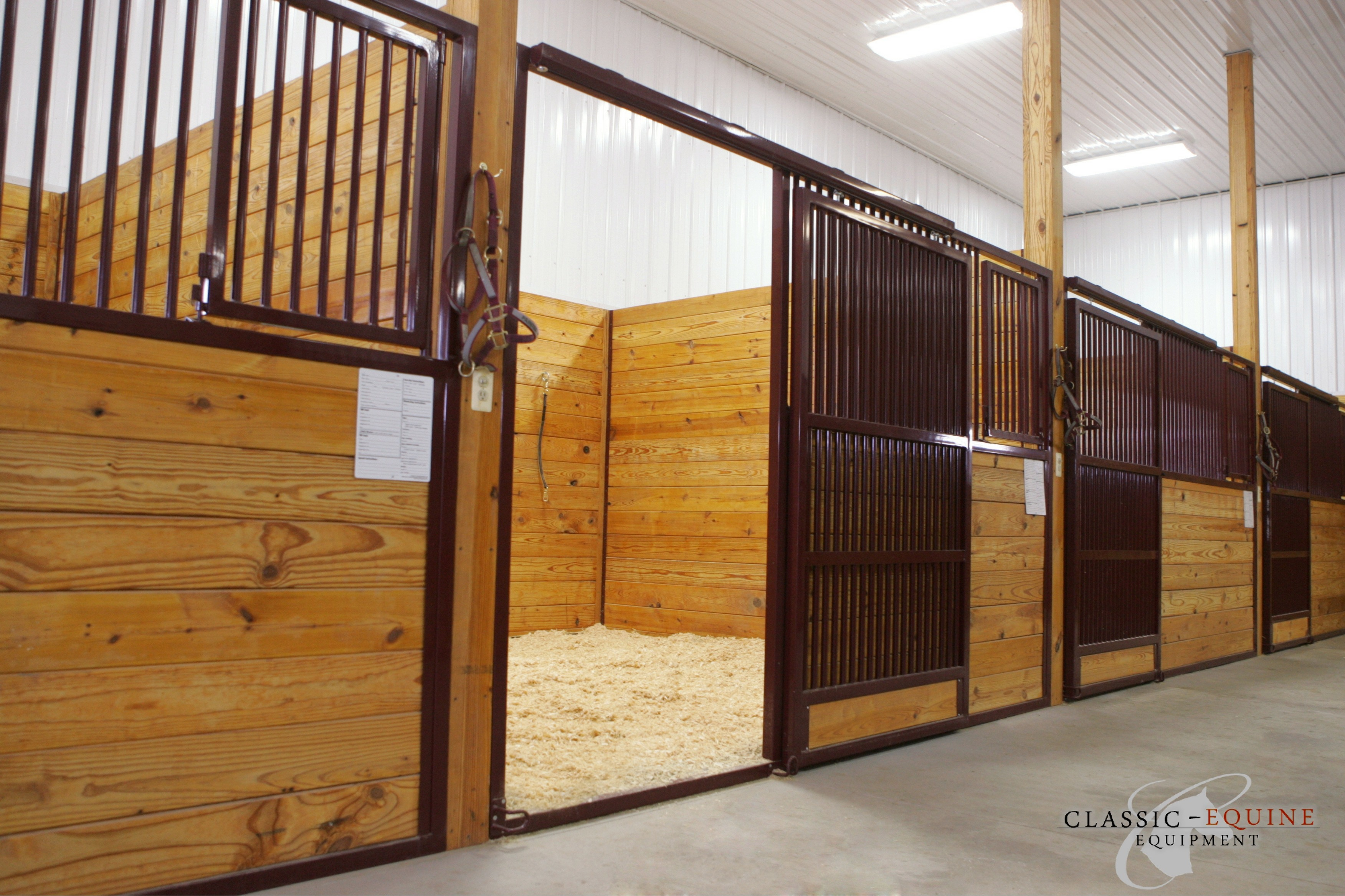 Sliding Horse Stall Doors Best Quality Horse Stalls Made In The Usa