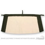 Plastic Convertible Top Rear Window (White)
