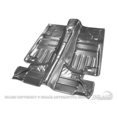 1964-68 Complete Floor Pan (Convertible, includes lower pans)
