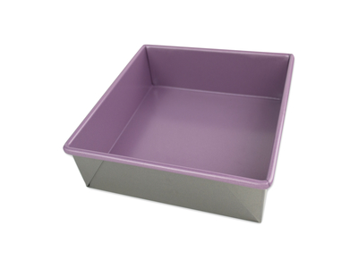 "USA 8"" Square Cake Allergy ID Pan"