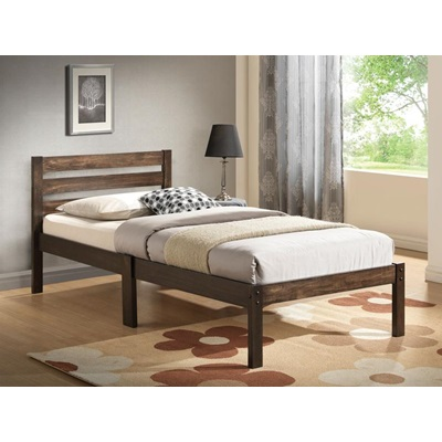 21520T ASH BROWN FINISH TWIN BED