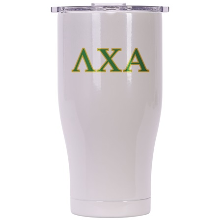 Lambda Chi Alpha Pearl/Clear Chaser 27oz