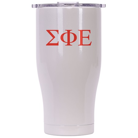 Sigma Phi Epsilon Pearl/Clear Chaser 27Oz