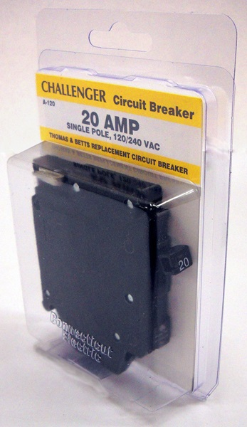 Connecticut Electric Inc - CHALLENGER A 1P 20 AMP