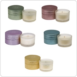Scentered Travel Candle, Retail 85g