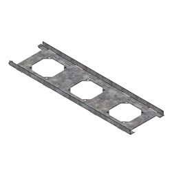 Triple TCC Clawed Ceiling Bracket