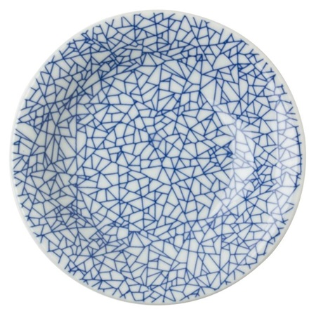 "Hiware 6.5"" Round Plate - Blue"