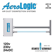 AeroLogic® UV Air Duct Residential and Commercial Disinfection Units - One Lamp Standard