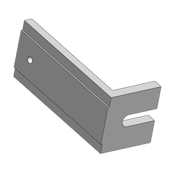 Adjustable Bracket End