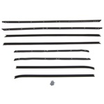 Window felt weatherstrip