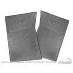 64-73 Pony Floor Mats (Black)