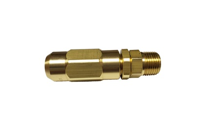 TeeJet Adjustable Conejet Spray Gun Brass Tip | Hardened Stainless Steel Orifice