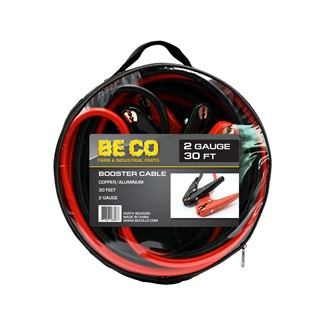 2 Gauge 30 ft Booster Cable