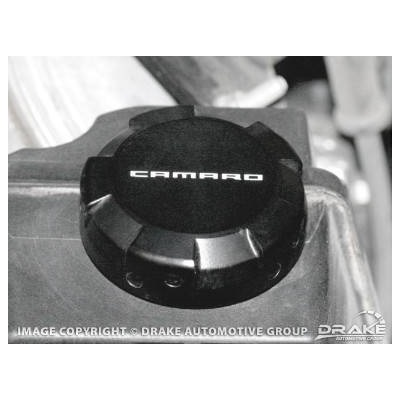 2010-13 Camaro Power Steering reservoir Cap Cover-Black