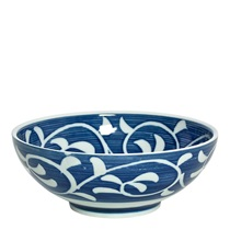 "Blue Karakusa 8.25"" Bowl"