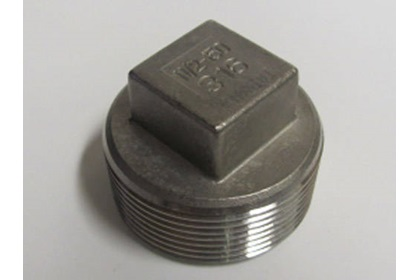 Stainless Steel Square Plugs - Various Sizes