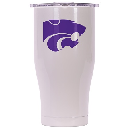 Kansas State 27Oz Chaser Pearl/Clear
