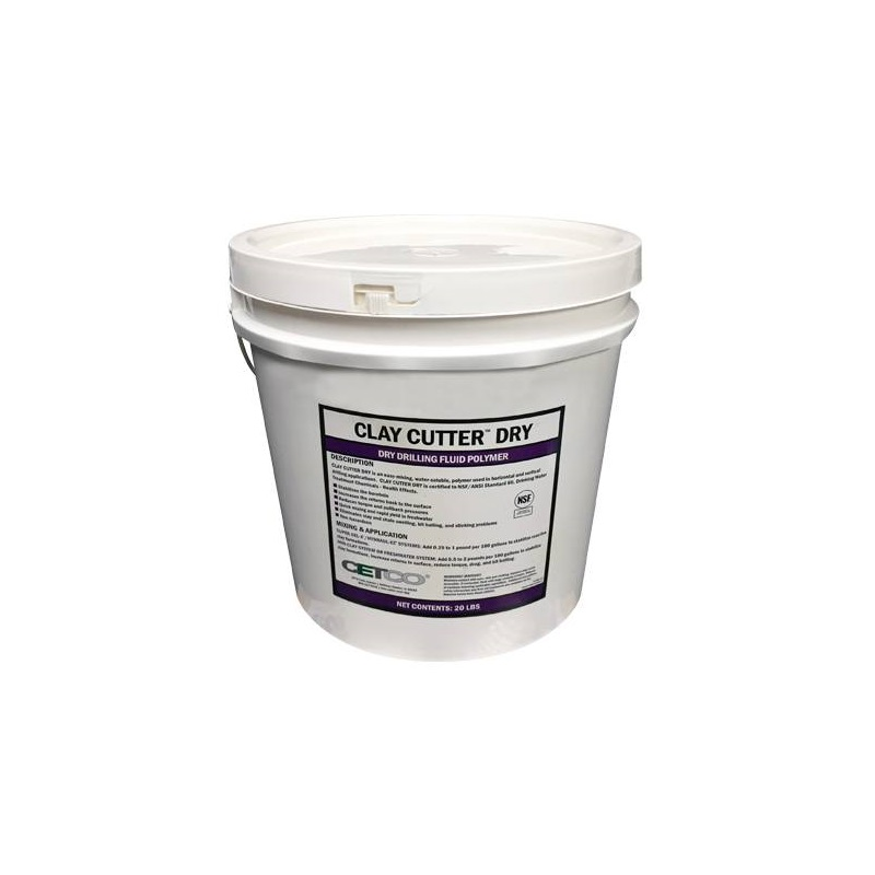 Cetco Clay Cutter Dry,  20lb Pail