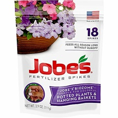 Jobes Potted Plant & Hanging Basket Fertilizer Spikes