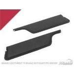 67-68 Convertible Sun Visors (Dark Red)