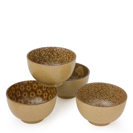 "Sepia  5"" Bowl Set"