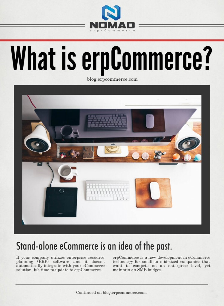 What is erpCommerce?