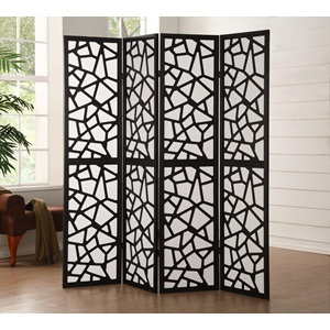 98291 4-PANEL WOOD SCREEN