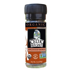 Organic Smoked Applewood Seasoned Celtic Sea Salt ® Blend