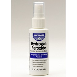 HYDROGEN PERXOIDE BOTTLE SPRAY 2 OZ.