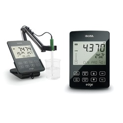 edge® Tablet pH Meter Kit (Hanna)