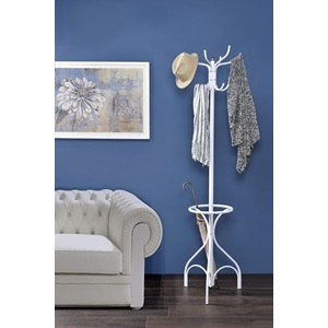 97515 WHITE COAT RACK
