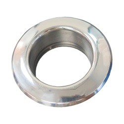 AIR INJECTOR ESCUTCHEON: STAINLESS STEEL