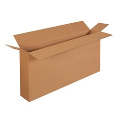 "48 X 8 X 24"" ECT44 SIDE LOAD CORRUGATED CARTON, 10/BD  HD48824FOL"
