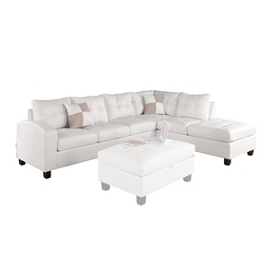 51175_KIT KIVA WHITE SECTIONAL SOFA