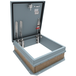 Security Roof Hatch - Steel