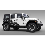 Wasteland Jeep Graphics (satin black)