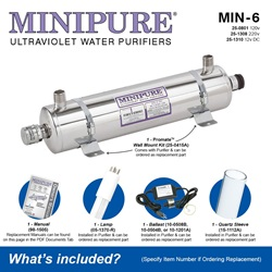 MINIPURE® MIN-6 What's Included