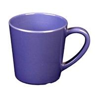 "Thunder Group Cr9018Bu Blue Melamine 3-1/8"" Mugs/Cups 7 Oz."