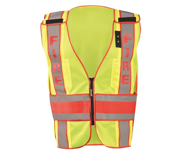 "DOR Deluxe Safety ""FIREFIGHTER"" Vest"