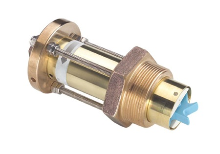 Brass Paddle Wheel Flow Sensor | Insertion Style