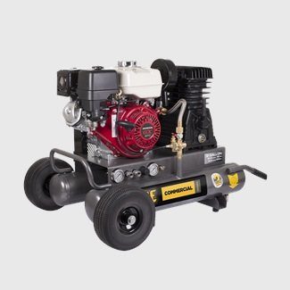 8 Gallon Wheeled Gas Compressor