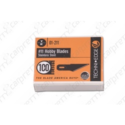 #11 Stainless Steel Hobby Knife Blades