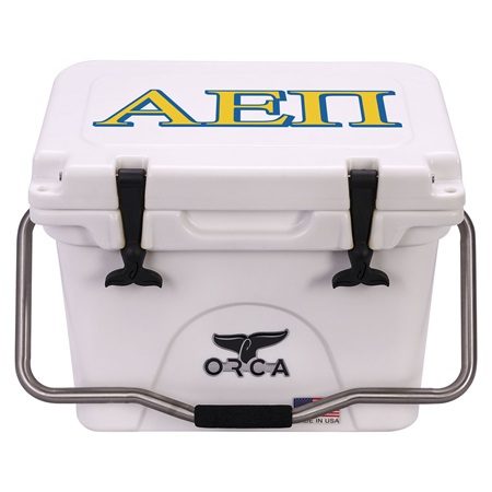 Alpha Epsilon Pi White 20 Quart