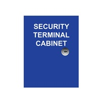 18-Point Security System Terminal Cabinet
