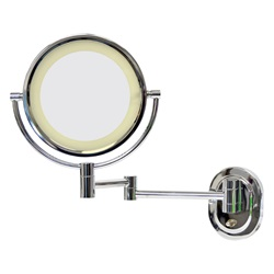 Mirror Vanity, Halo Light Wall Mounted 5x